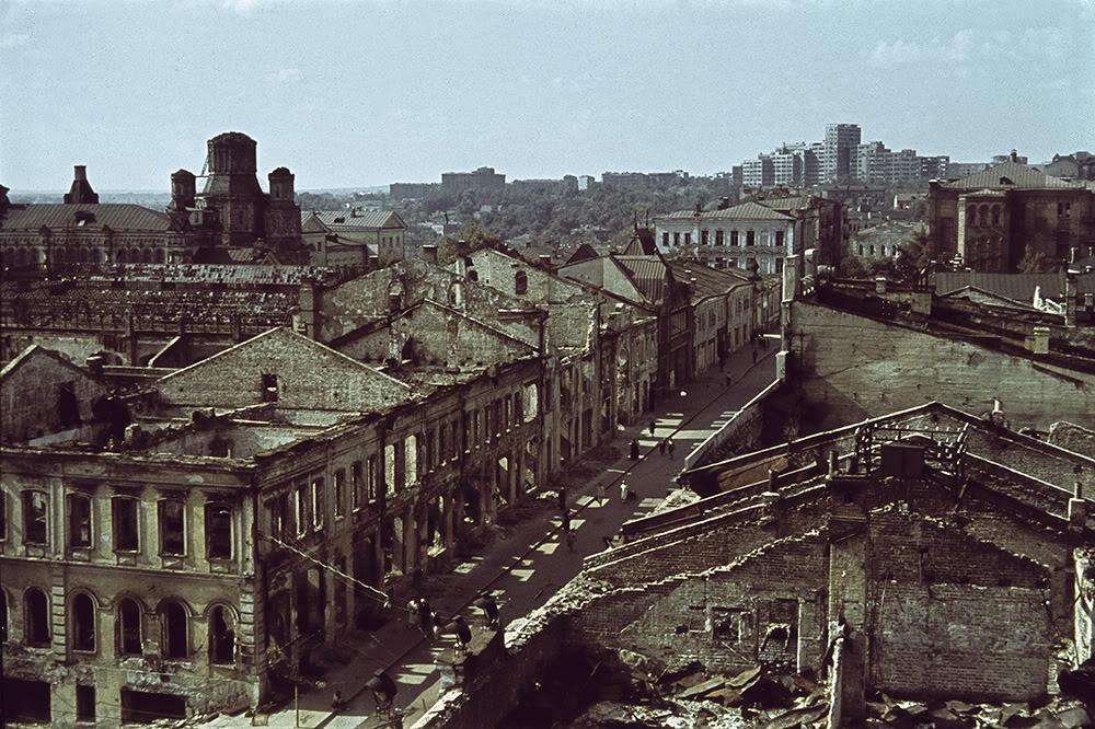 Харьков после Второй Мировой Войны