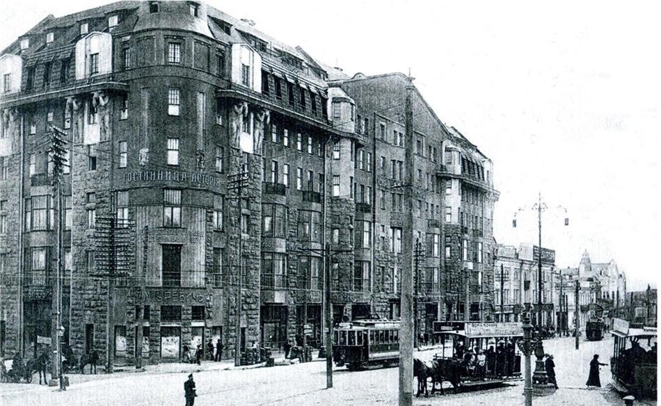 Построенный в 1913 году по проекту архитектора Александра Ржепишевского дом